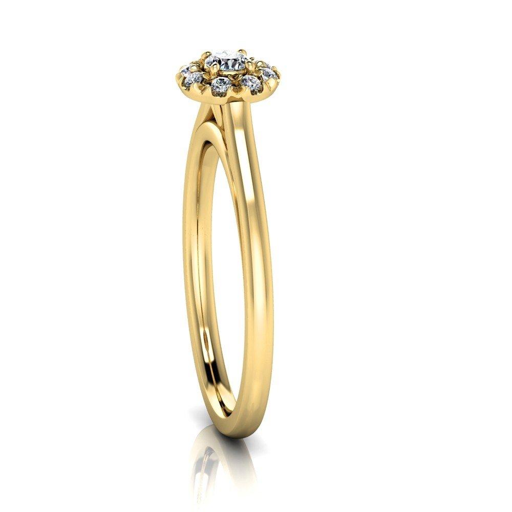 Vorschau: Verlobungsring-VR08-333er-Gelbgold-5376-ceta