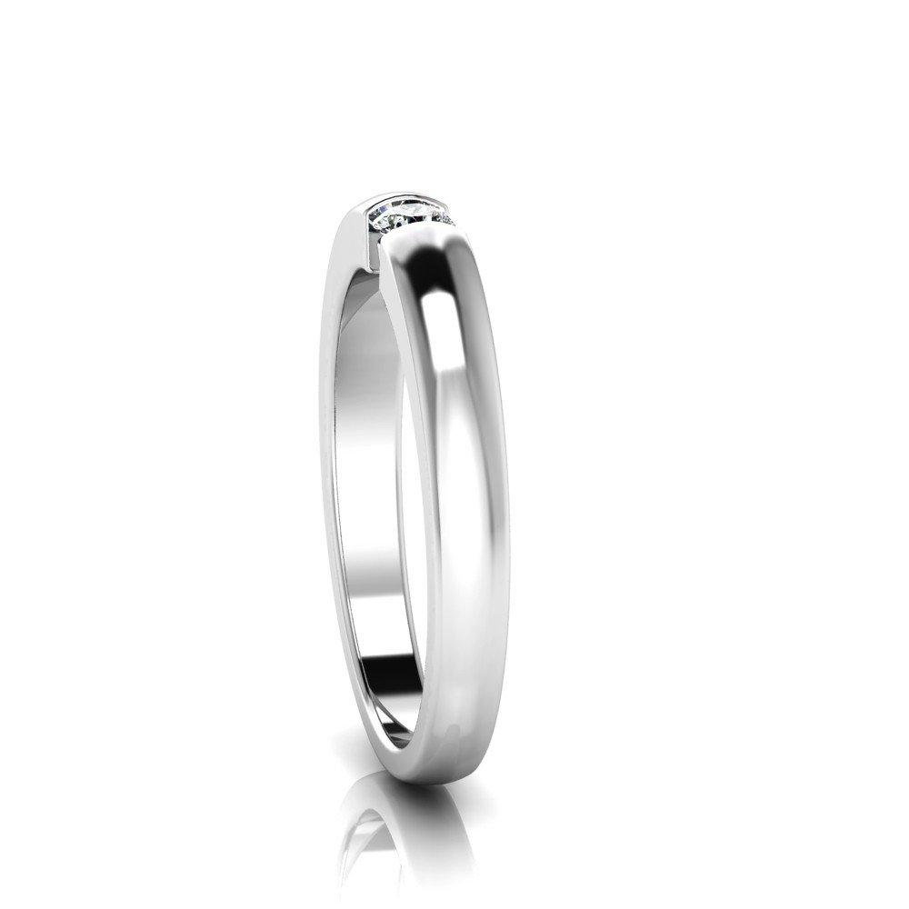 Vorschau: Verlobungsring-VR04-333er-Weißgold-6681-ceta