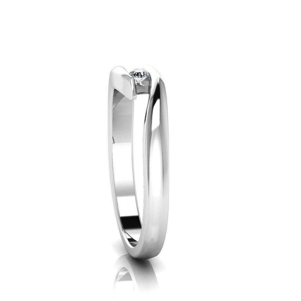 Vorschau: Verlobungsring-VR03-333er-Weißgold-6666-ceta