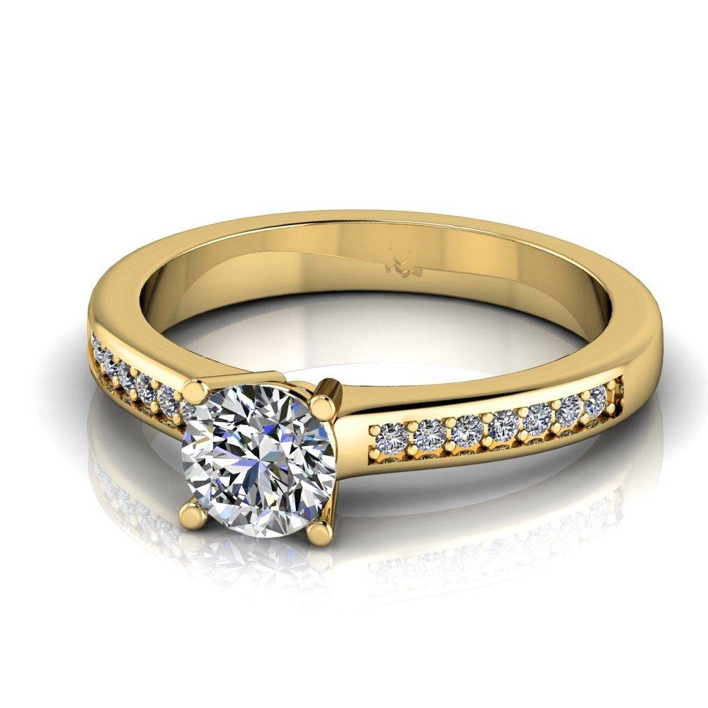 Vorschau: Verlobungsring-VR05-333er-Gelbgold-5205-deta