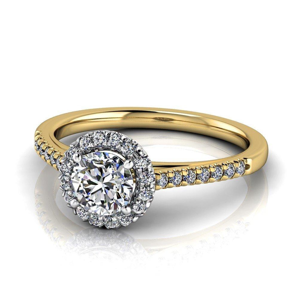 Vorschau: Verlobungsring-VR09-333er-Gelb-Weißgold-5490-deta