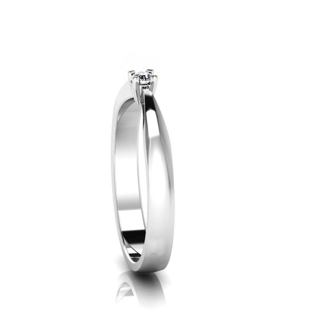 Vorschau: Verlobungsring-VR07-333er-Weißgold-6714-ceta