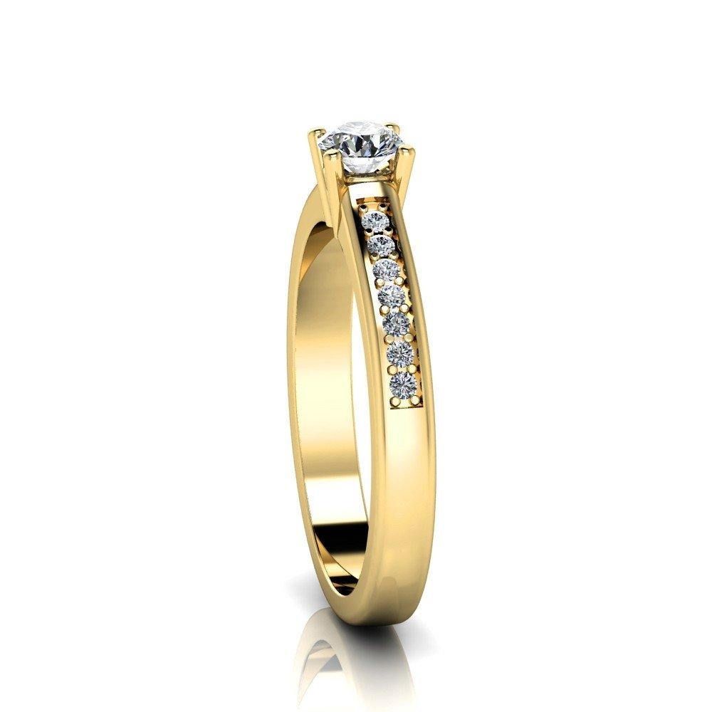 Vorschau: Verlobungsring-VR05-333er-Gelbgold-5189-ceta