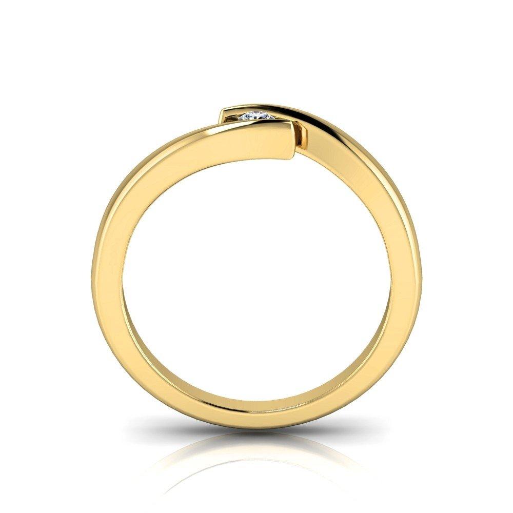 Vorschau: Verlobungsring-VR03-333er-Gelbgold-3358-beta