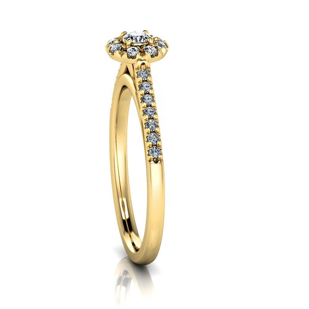 Vorschau: Verlobungsring-VR09-333er-Gelbgold-5496-ceta