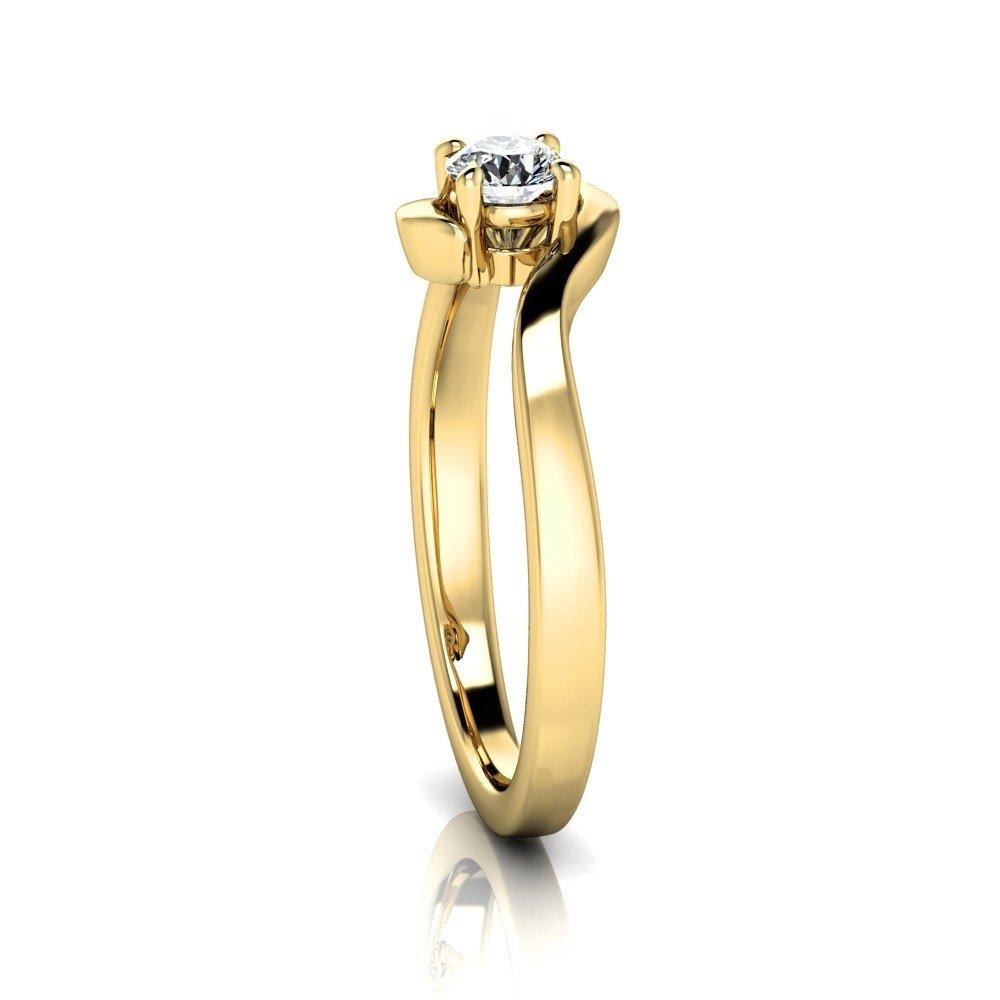 Vorschau: Verlobungsring-VR10-333er-Gelbgold-5604-ceta