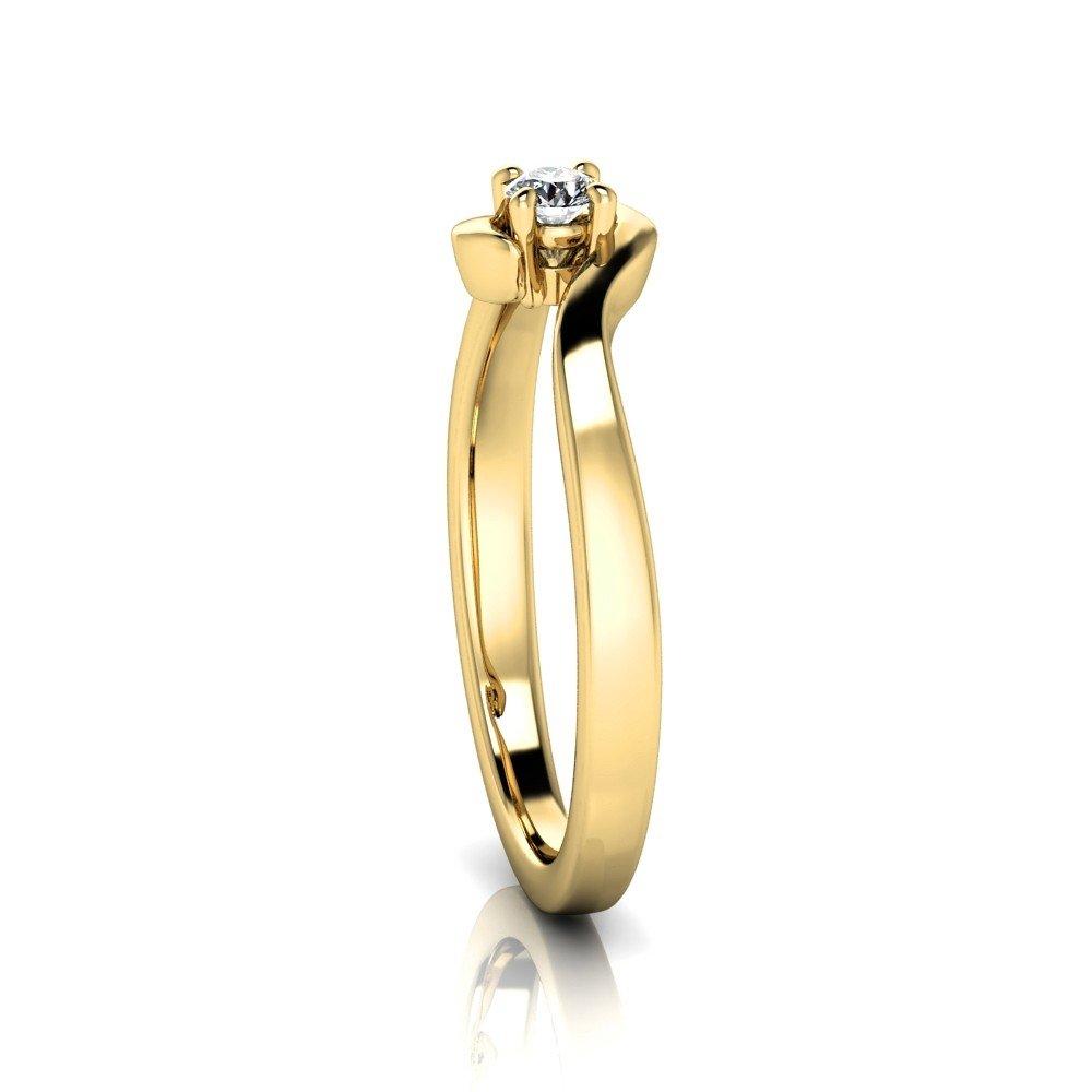 Vorschau: Verlobungsring-VR10-333er-Gelbgold-5601-ceta