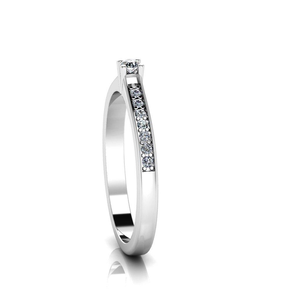 Vorschau: Verlobungsring-VR05-585er-Weißgold-6691-ceta