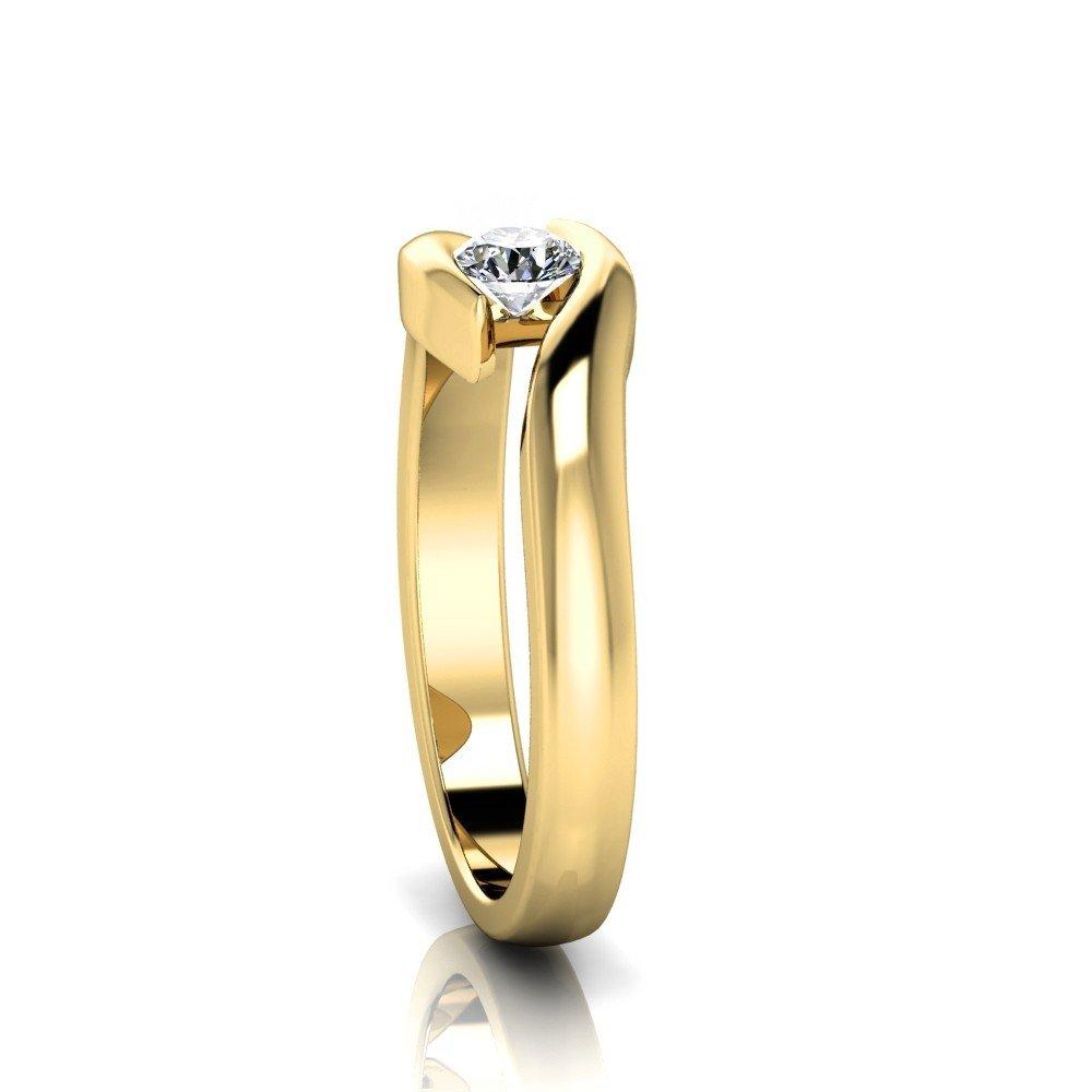 Vorschau: Verlobungsring-VR03-333er-Gelbgold-5093-ceta