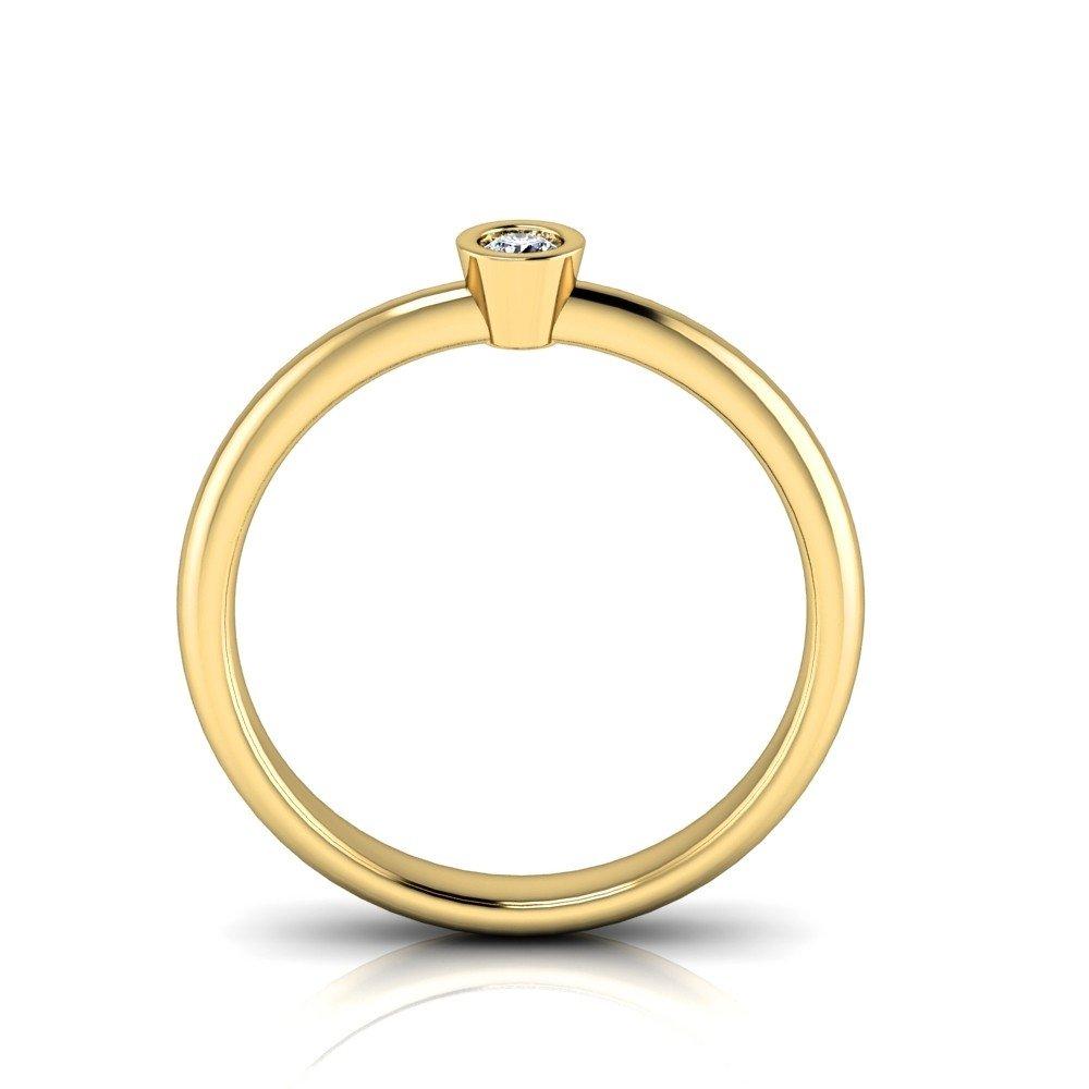 Vorschau: Verlobungsring-VR02-333er-Gelbgold-3321-beta