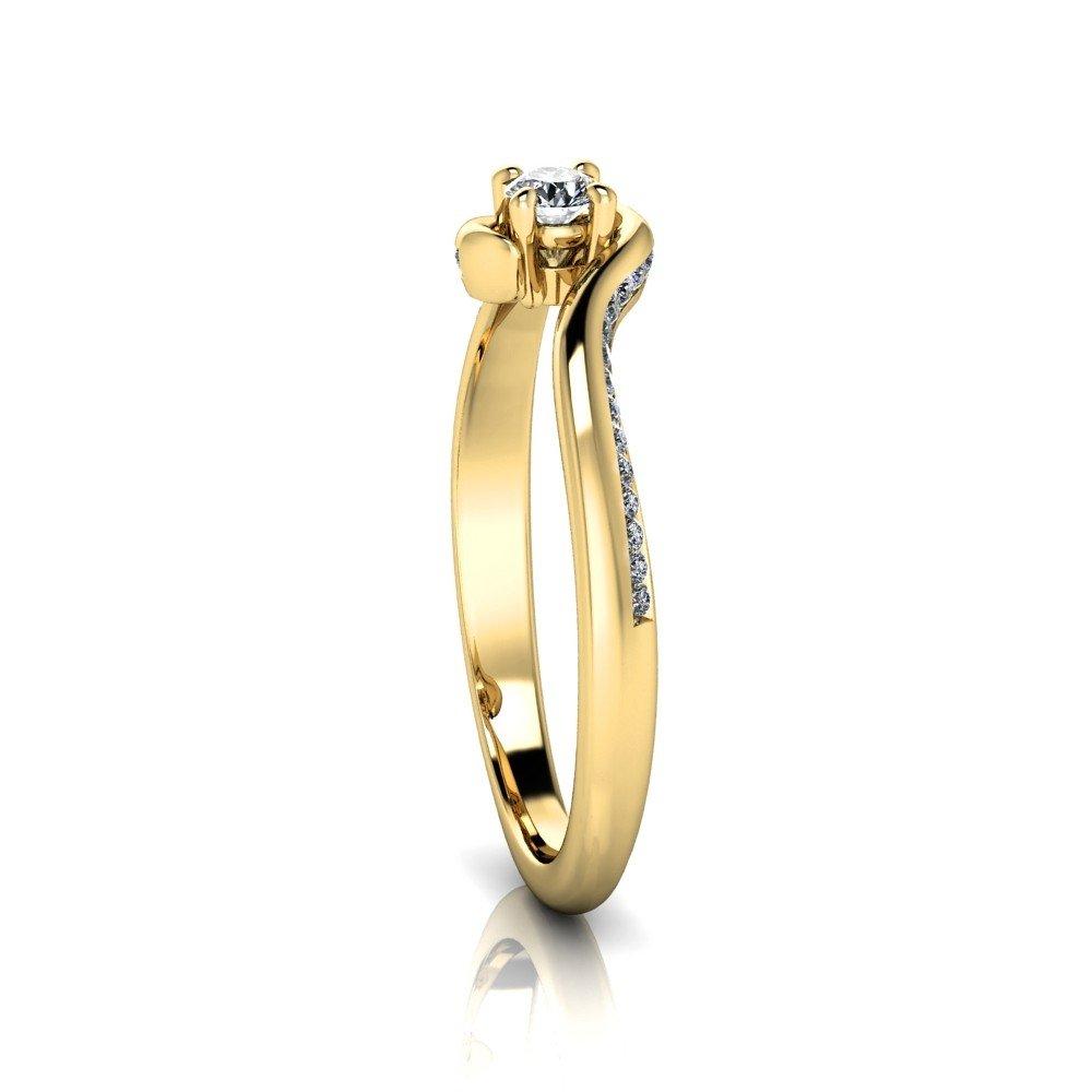 Vorschau: Verlobungsring-VR11-333er-Gelbgold-5663-ceta