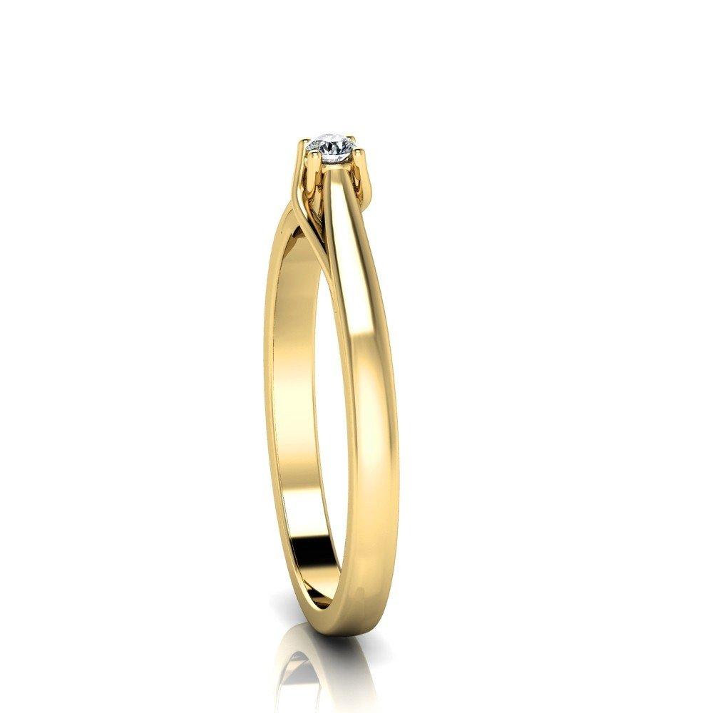 Vorschau: Verlobungsring-VR14-750er-Gelbgold-5894-ceta