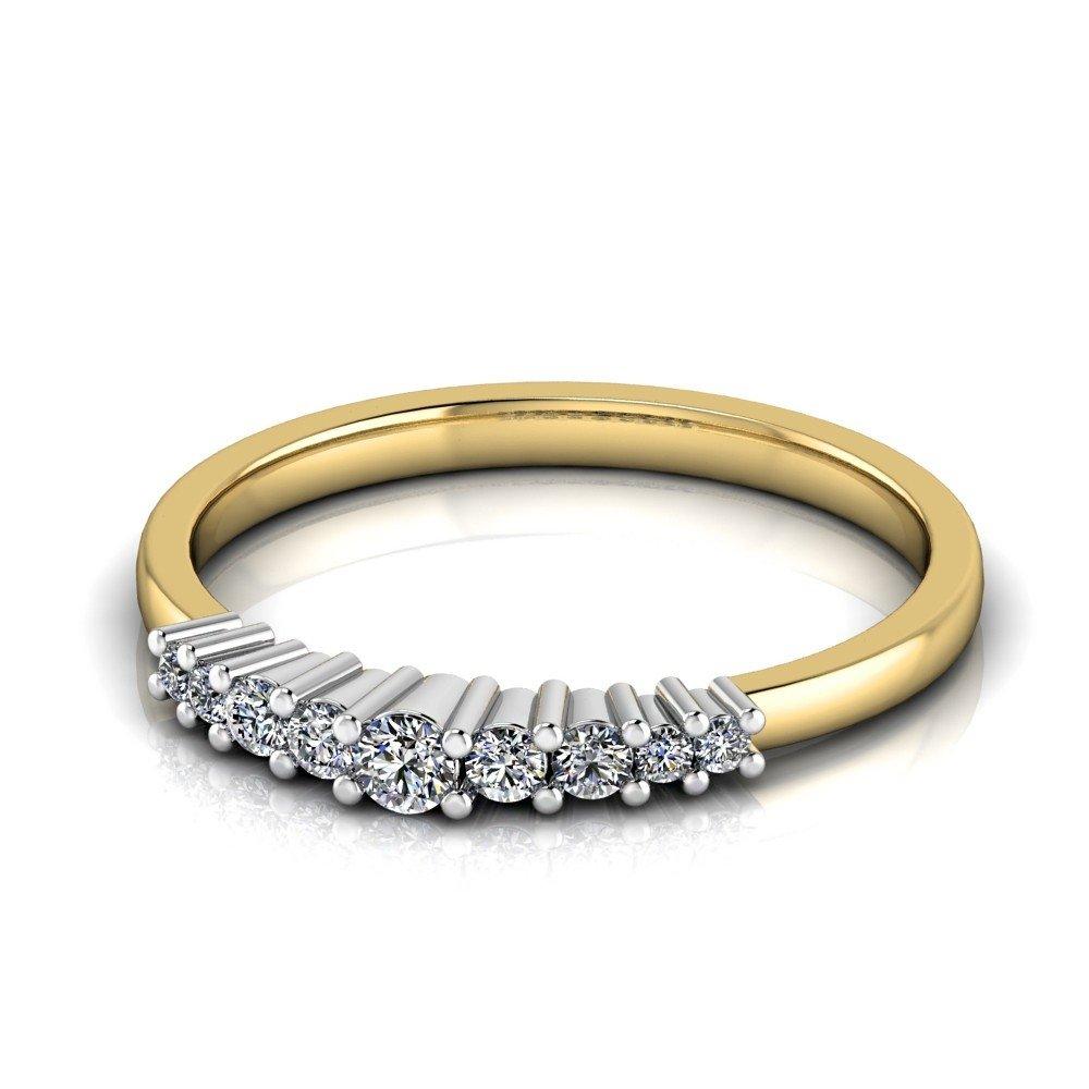 Vorschau: Verlobungsring-VR12-585er-Gelb-Weißgold-5724-deta
