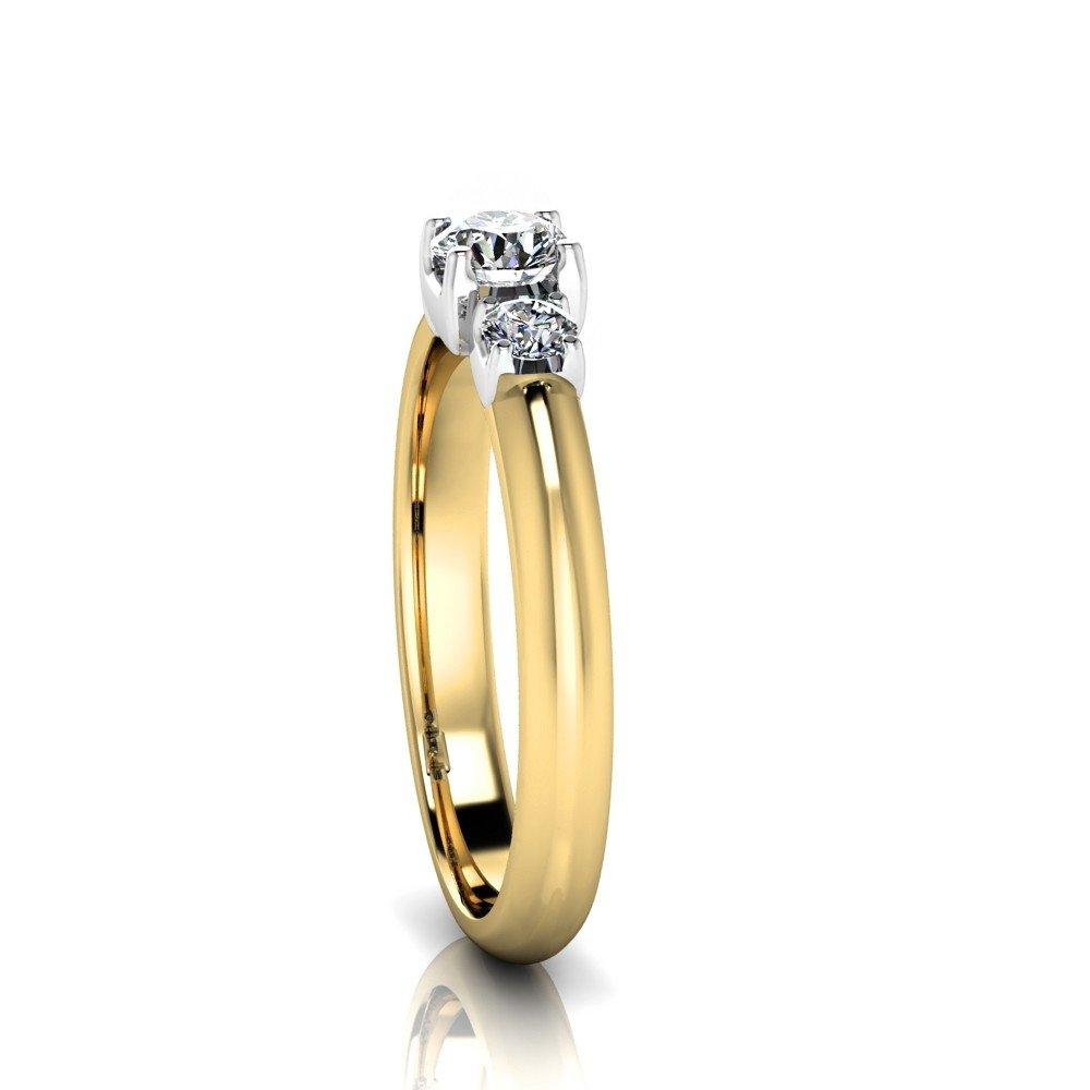 Vorschau: Verlobungsring-VR13-333er-Gelb-Weißgold-5784-ceta