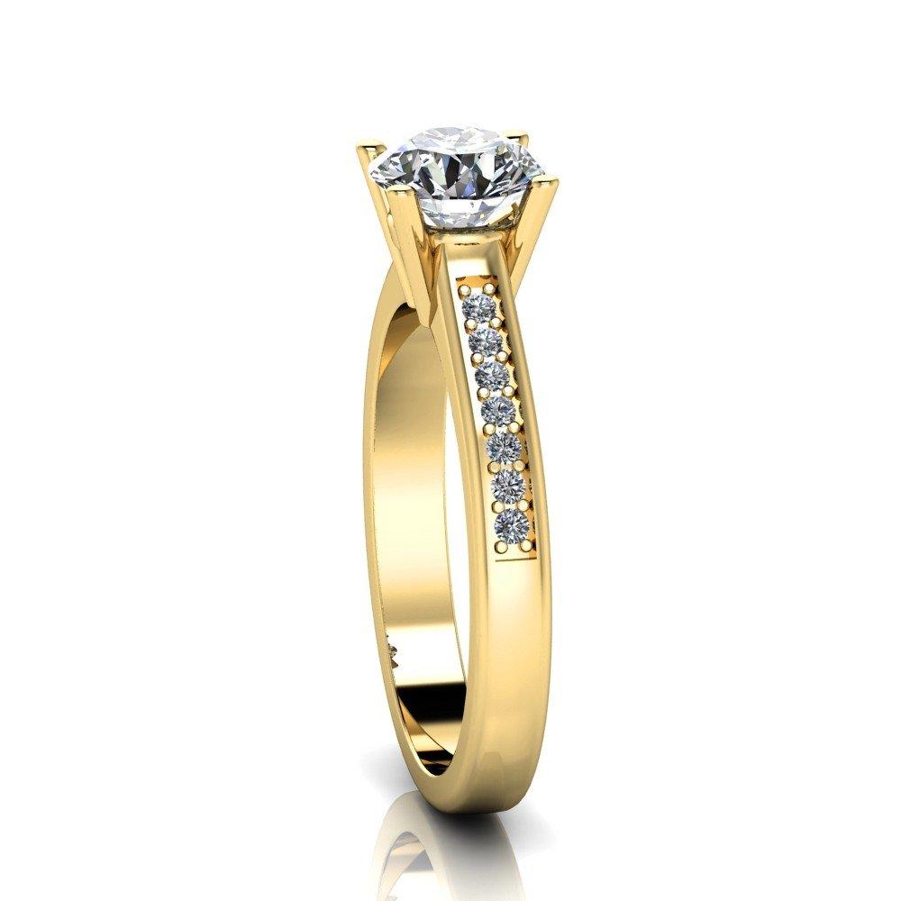 Vorschau: Verlobungsring-VR05-333er-Gelbgold-5213-ceta