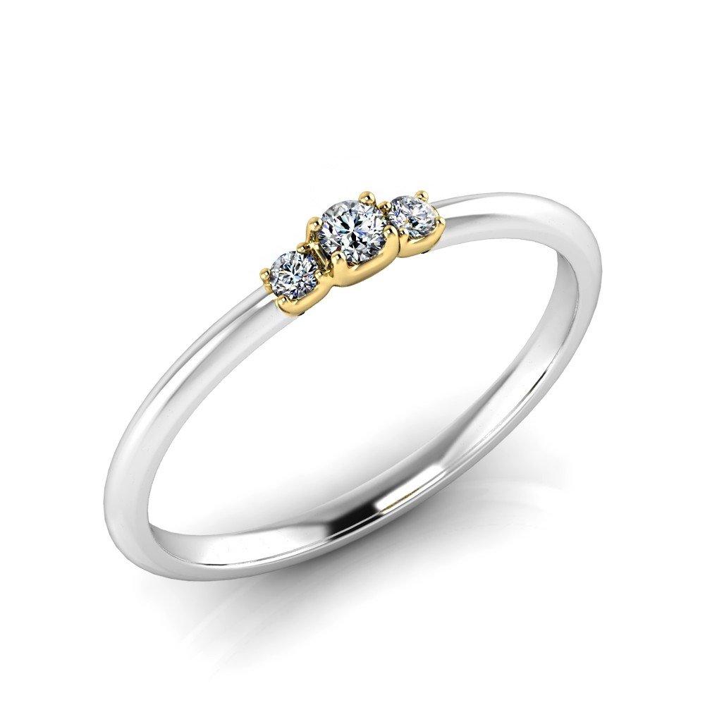 Verlobungsring-VR13-333er-Weiß-Gelbgold-5802