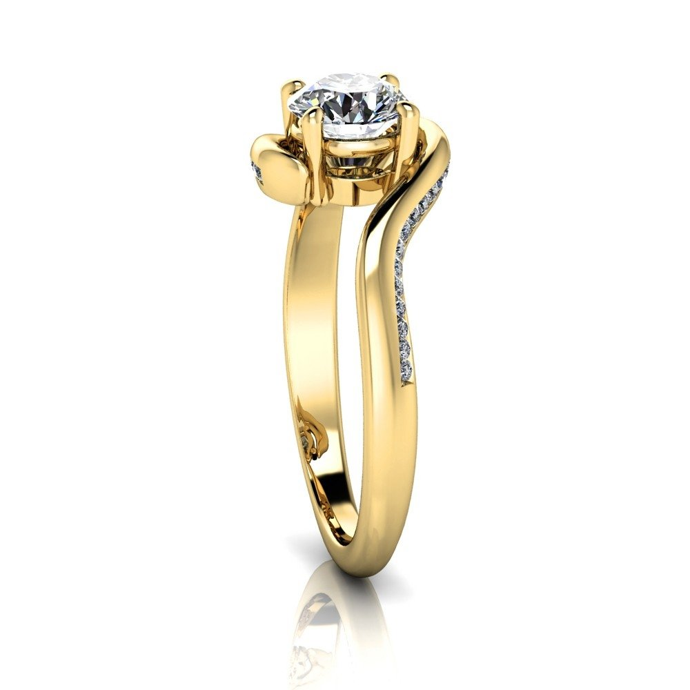 Vorschau: Verlobungsring-VR11-333er-Gelbgold-5672-ceta