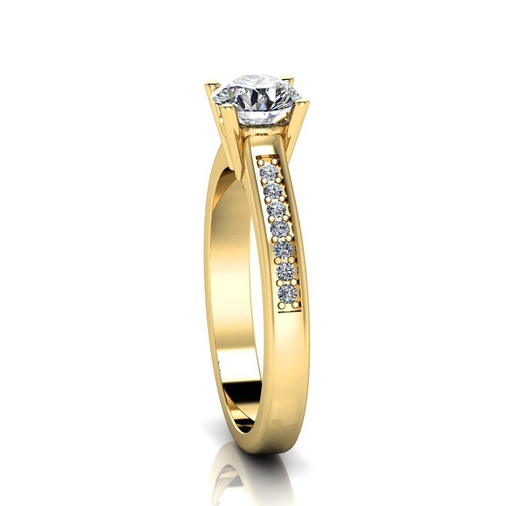 Vorschau: Verlobungsring-VR05-333er-Gelbgold-5205-ceta