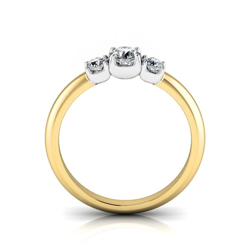 Vorschau: Verlobungsring-VR13-333er-Gelb-Weißgold-5781-beta