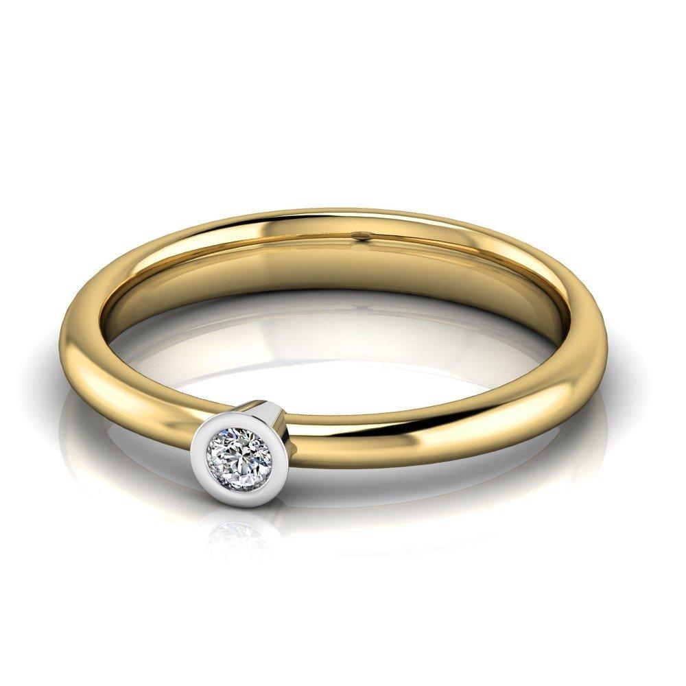 Vorschau: Verlobungsring-VR02-333er-Gelb-Weißgold-0994-deta