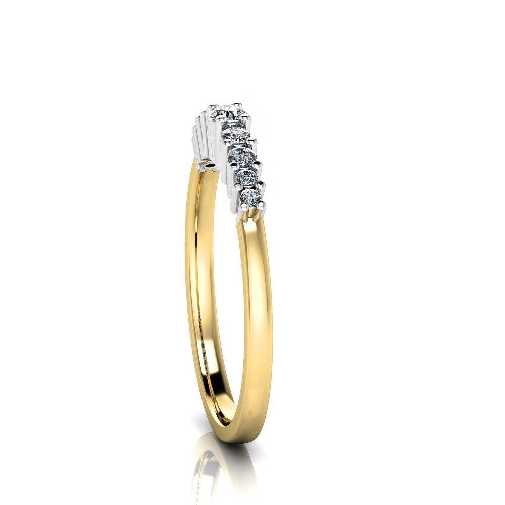 Vorschau: Verlobungsring-VR12-750er-Gelb-Weißgold-5725-ceta
