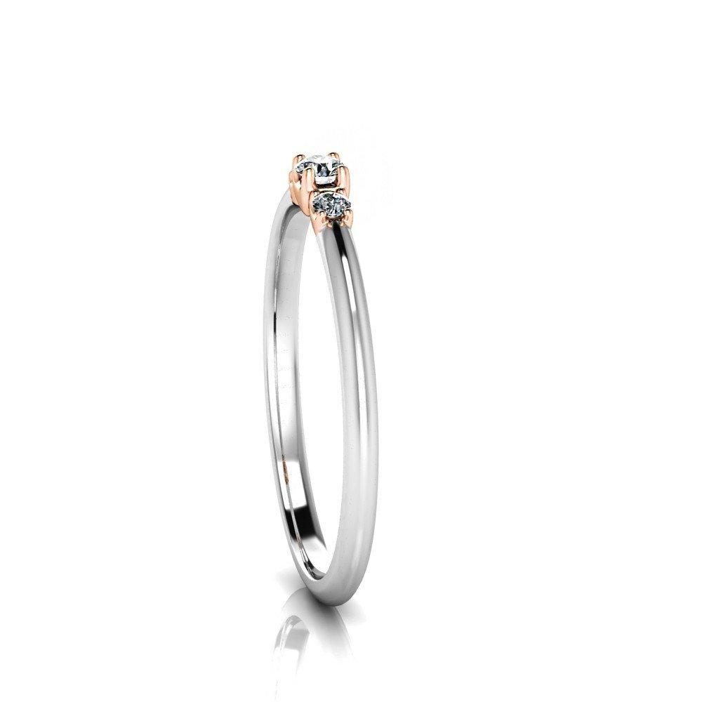 Vorschau: Verlobungsring-VR13-585er-Weiß-Rotgold-5863-ceta