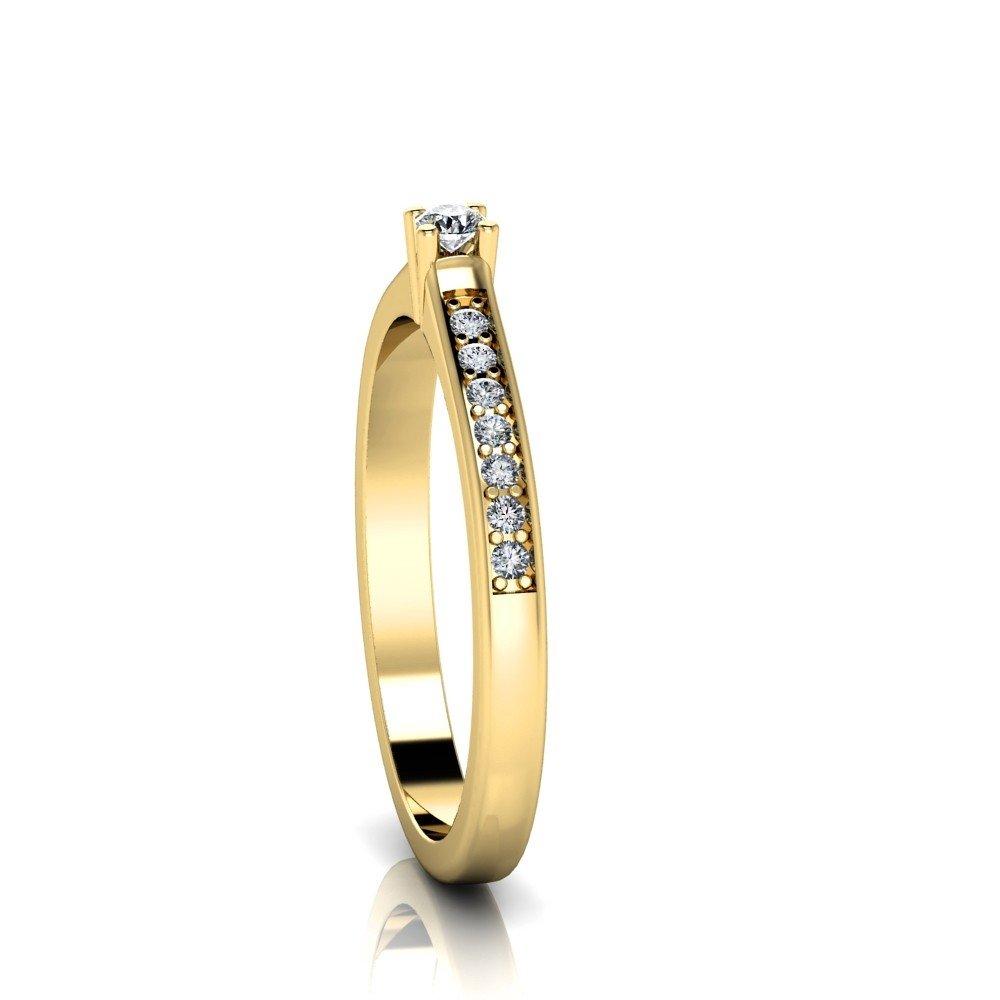 Vorschau: Verlobungsring-VR05-333er-Gelbgold-3430-ceta