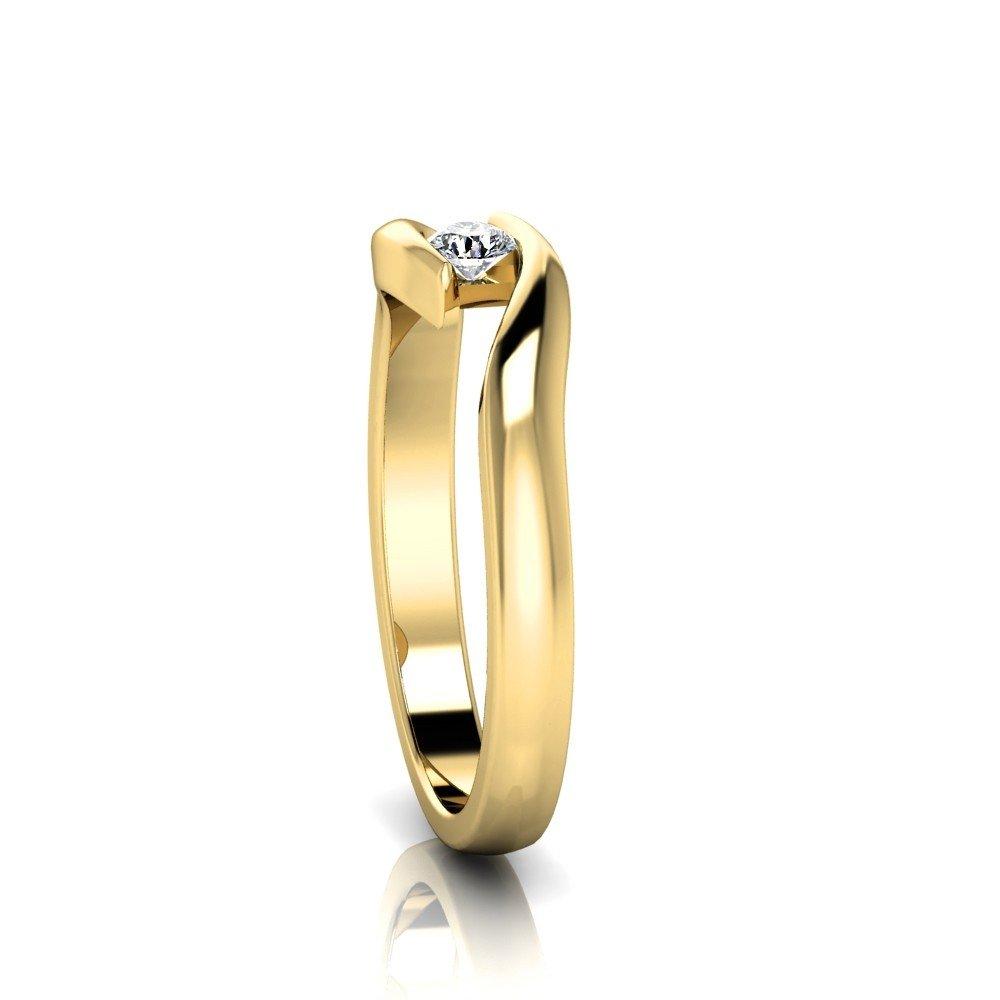 Vorschau: Verlobungsring-VR03-333er-Gelbgold-3367-ceta