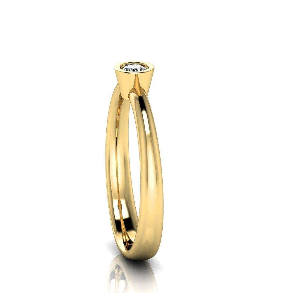 Vorschau: Verlobungsring-VR02-333er-Gelbgold-3331-ceta